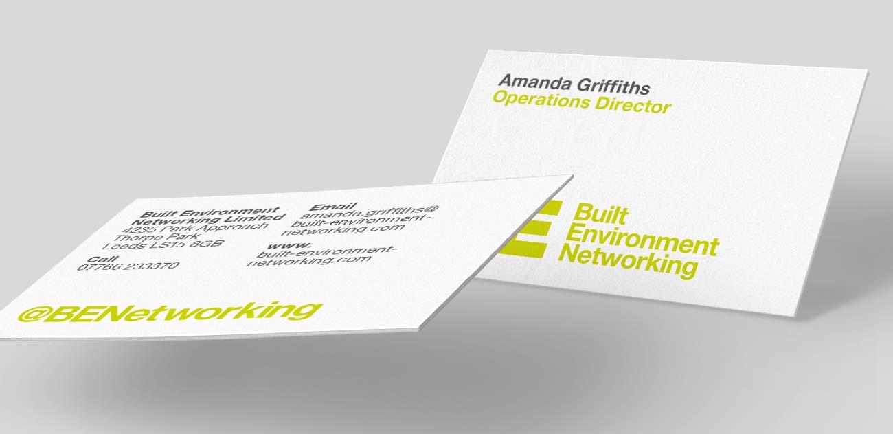 BEN business card design