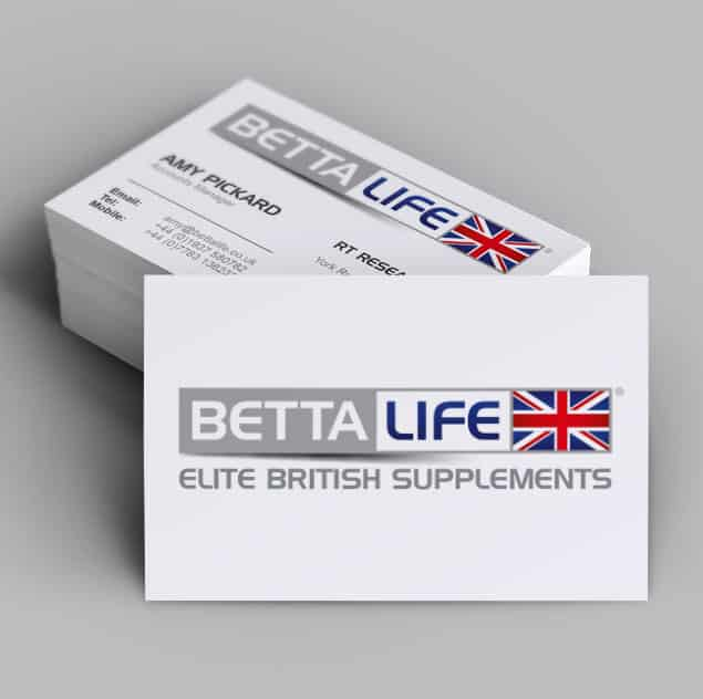 BETTALIFE Business card design