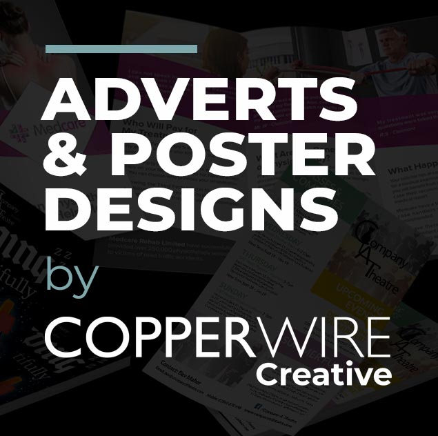 Adverts and poster design