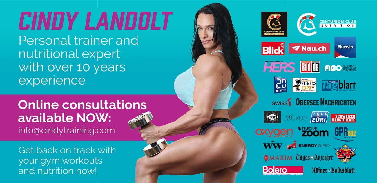 Cindy Landolt personal training design