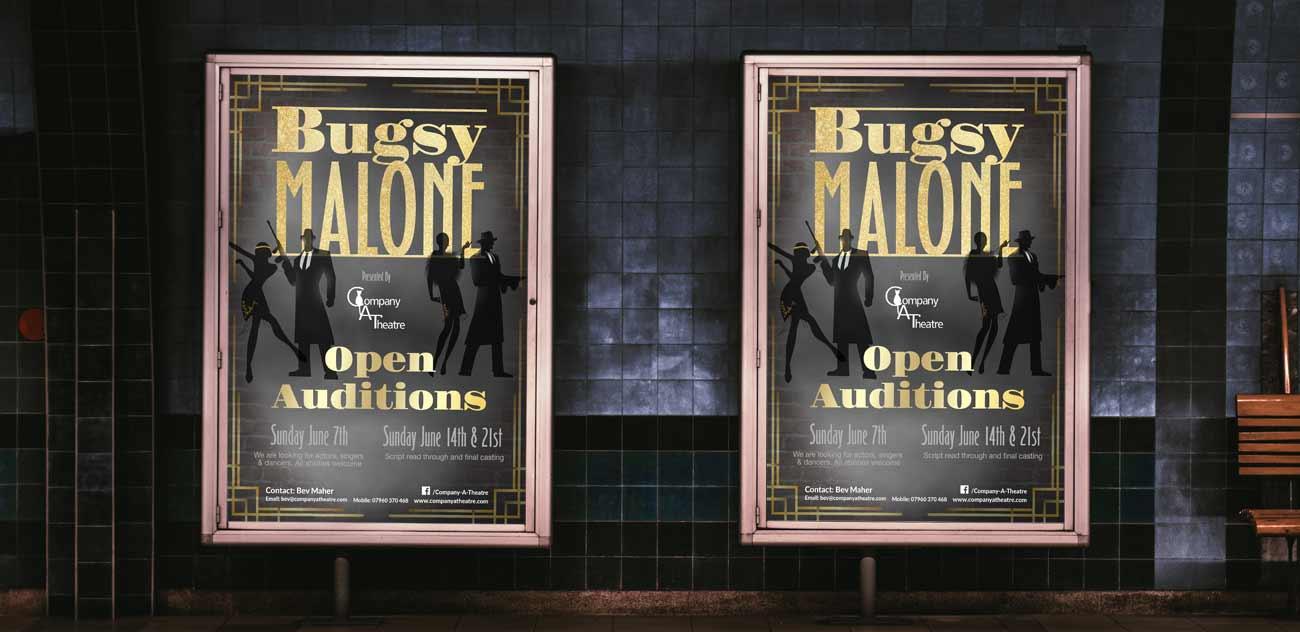 Company A Theatre poster design