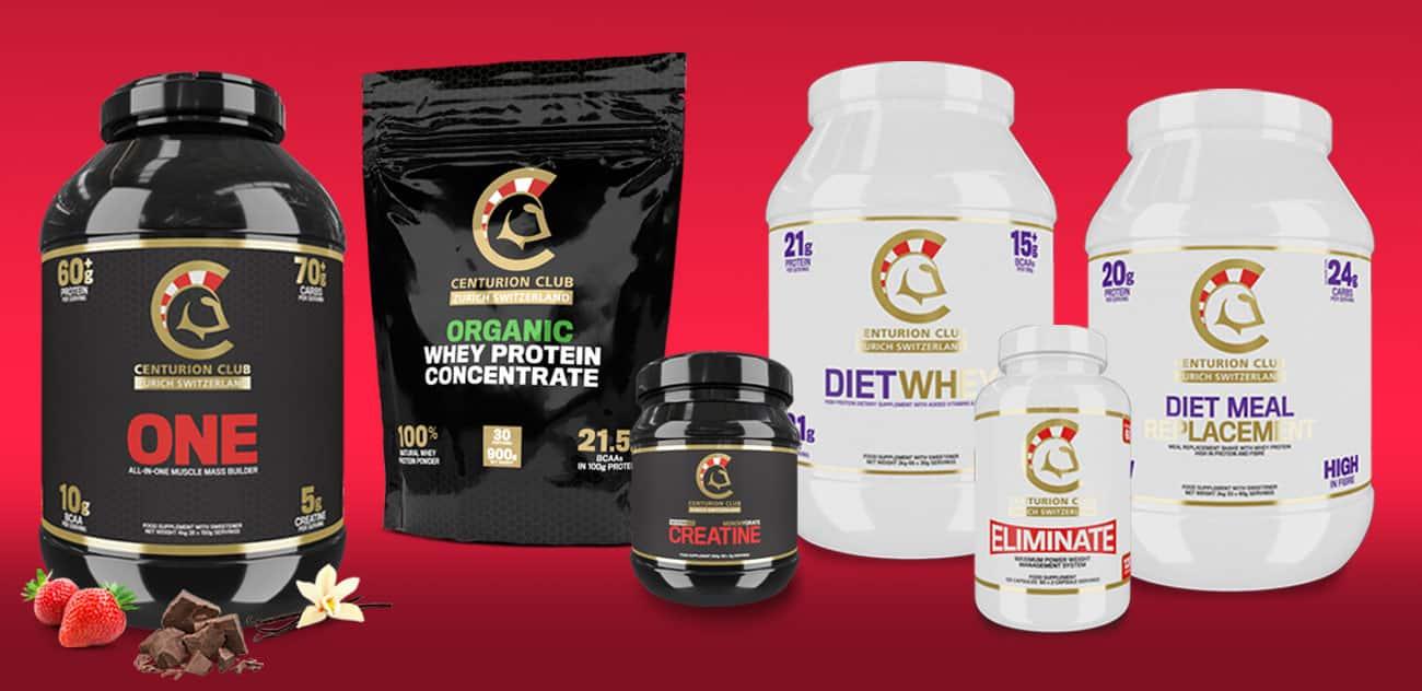 Centurion Club Label Designs