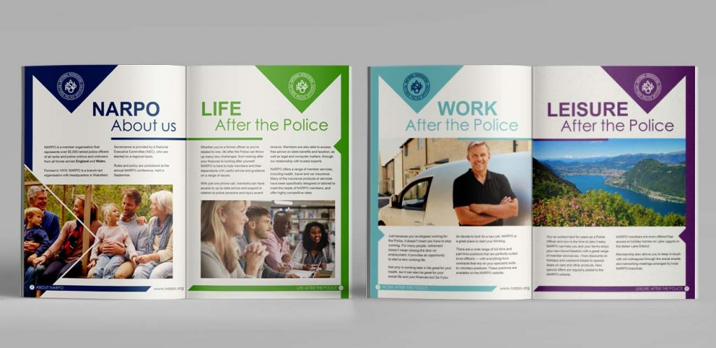 NARPO Welcome Brochure Design