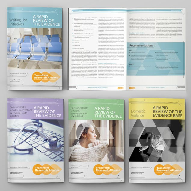 Transform Research Alliance - RapidReview designs