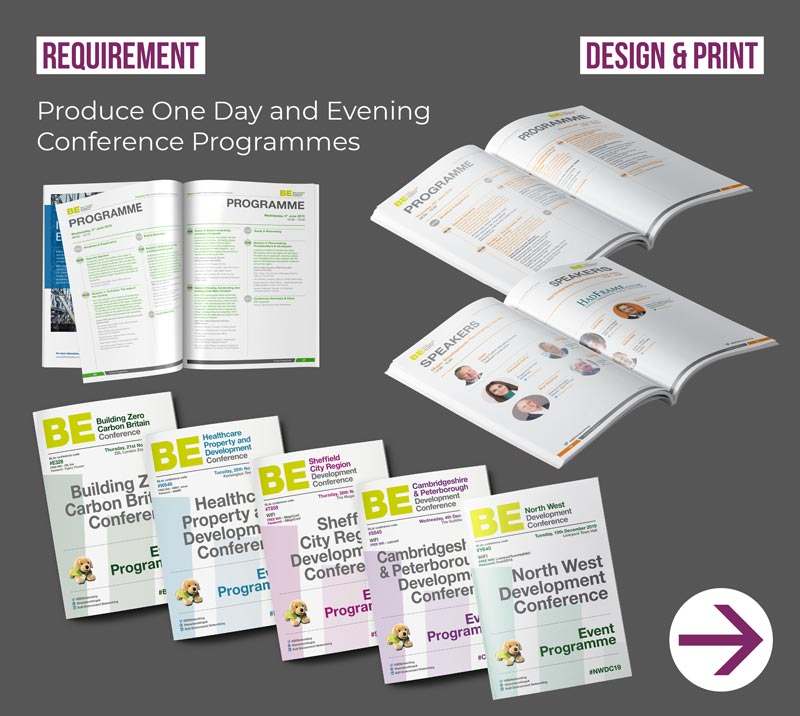 conference programme designs
