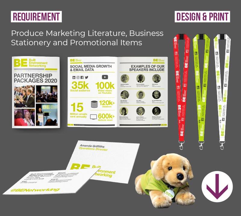 promotional literature designs