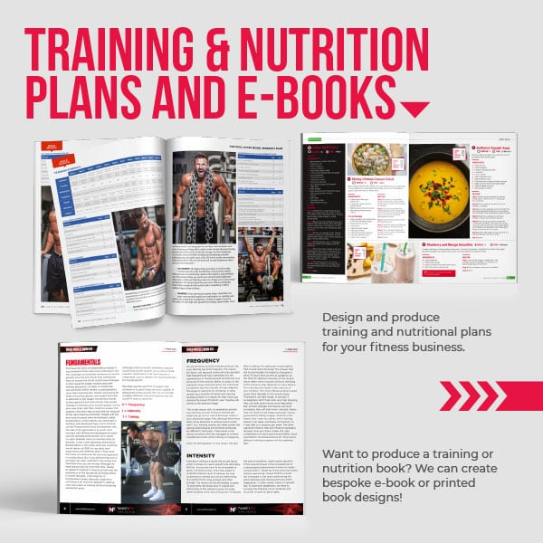 Training and Nutrition Graphic Design